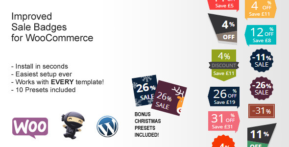 CodeCanyon Improved Sale Badges for WooCommerce 9678382