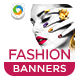 Fashion Jewellery Banners - GraphicRiver Item for Sale
