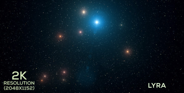 VideoHive The Constellation of Lyra 9678626