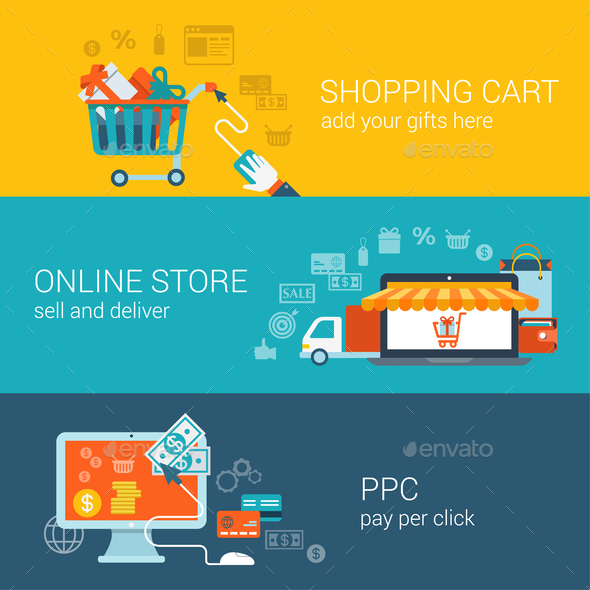 GraphicRiver Shopping Concept 9678631