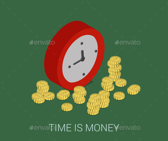 GraphicRiver Time is Money 9678680