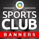 Gym & Sports club Banners - GraphicRiver Item for Sale