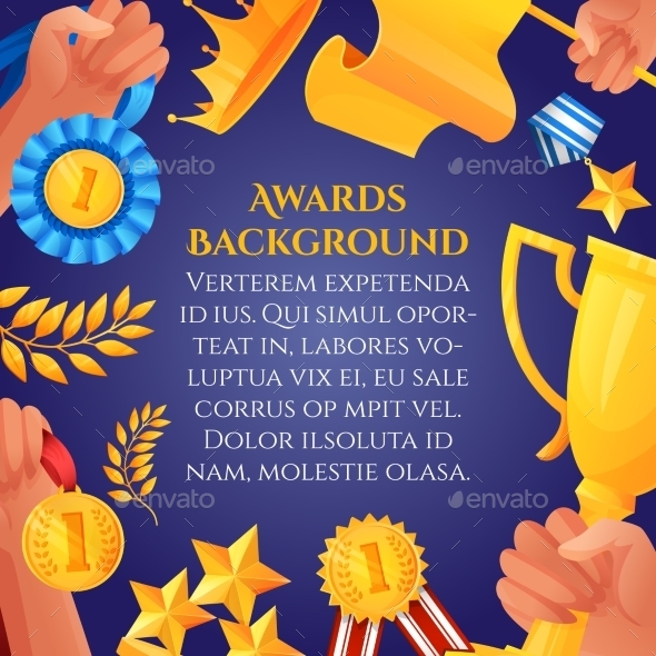 GraphicRiver Award and Prizes Poster 9678710