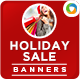 Holiday Sale Banners - GraphicRiver Item for Sale