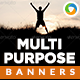 Marketing and Business Banners - GraphicRiver Item for Sale