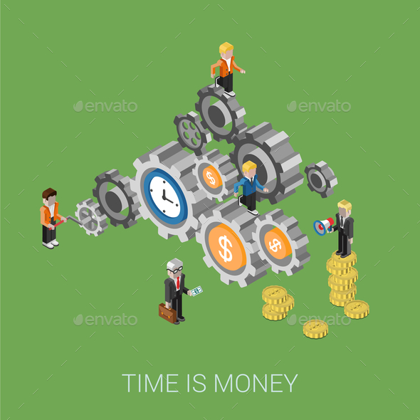 GraphicRiver Time is Money 9678824