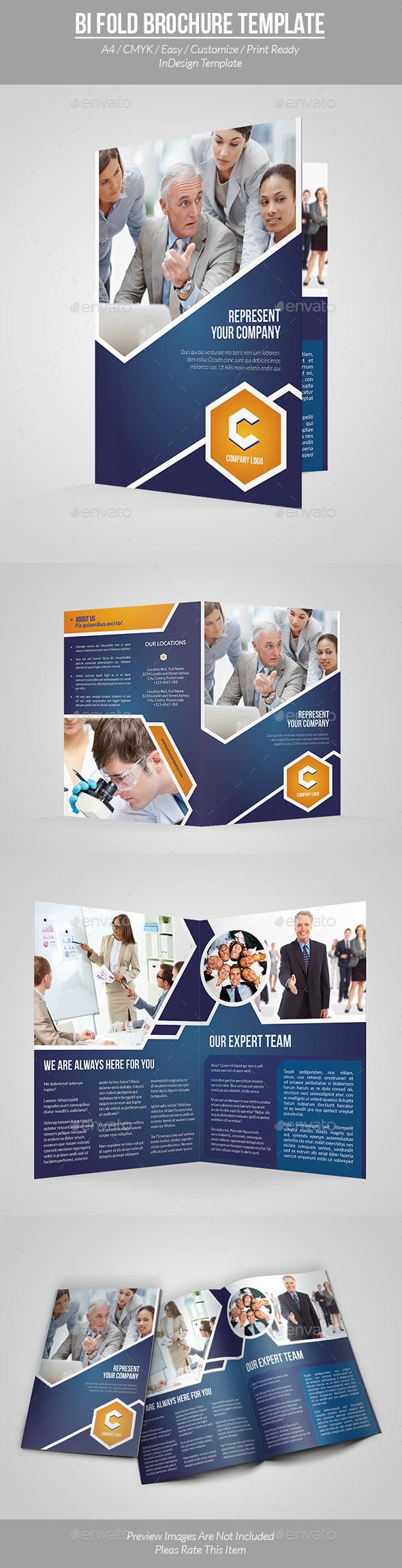 GraphicRiver Bi Fold Brochure Template 9557710