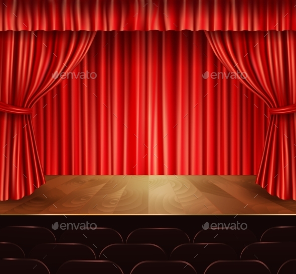 GraphicRiver Theater Stage Background 9678918