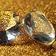 Diamonds On Orange Glitter - VideoHive Item for Sale