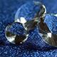 Diamonds On Blue Glitter - VideoHive Item for Sale