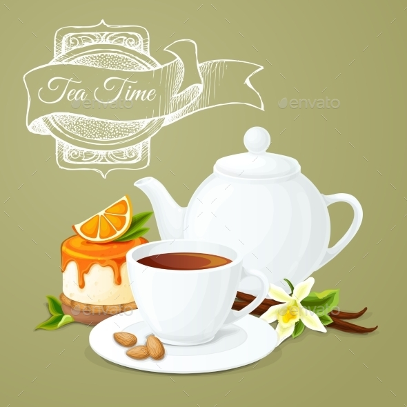 GraphicRiver Tea Party Poster 9678968