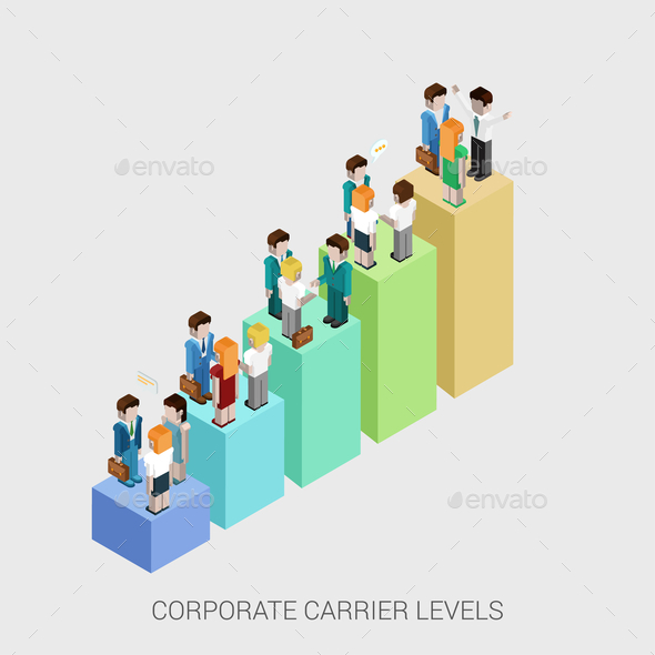 GraphicRiver Corporate Carrier Levels 9678973