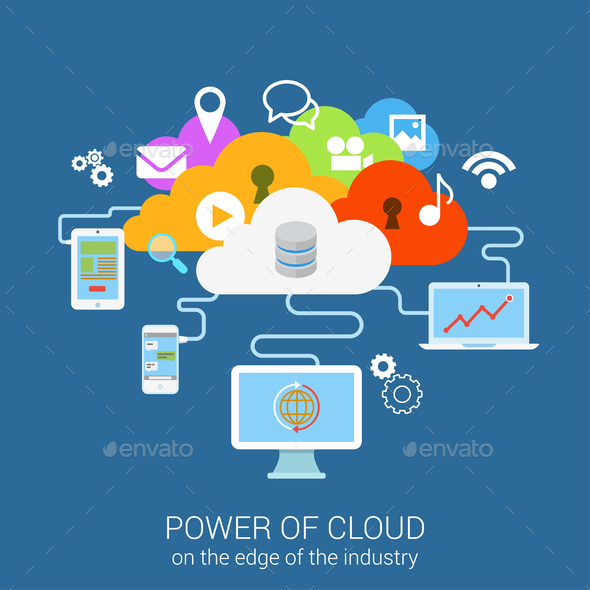 GraphicRiver Cloud Concept 9679022