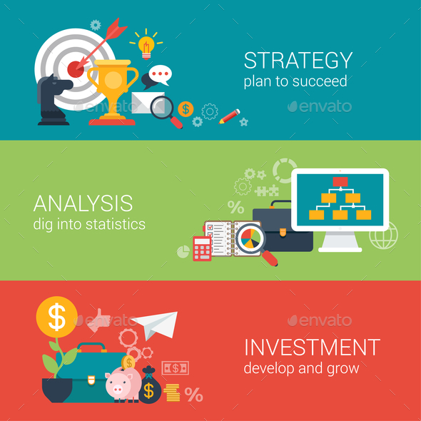 GraphicRiver Business Success Strategy Infographic Concept 9679023