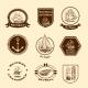 Sketch Nautical Emblems - GraphicRiver Item for Sale