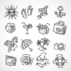 Summer Vacation Icon Set - GraphicRiver Item for Sale