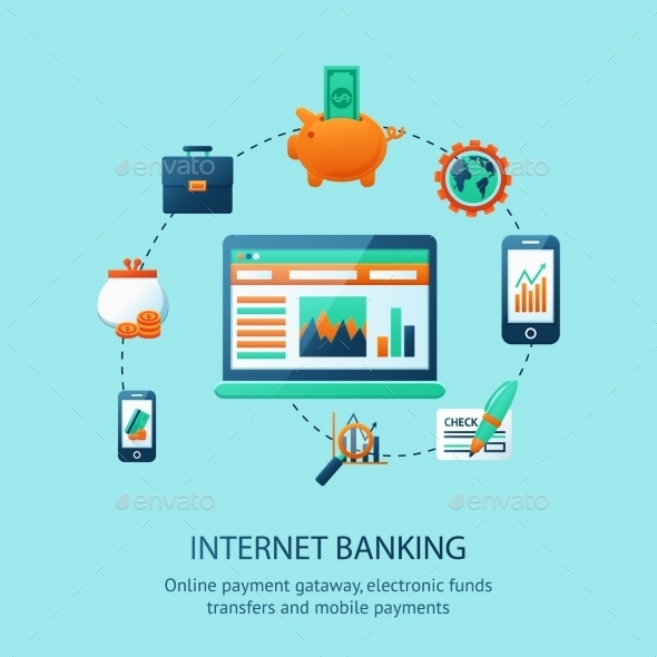 GraphicRiver Internet Banking Poster 9679375