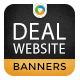 Deals & Coupon Banners - GraphicRiver Item for Sale