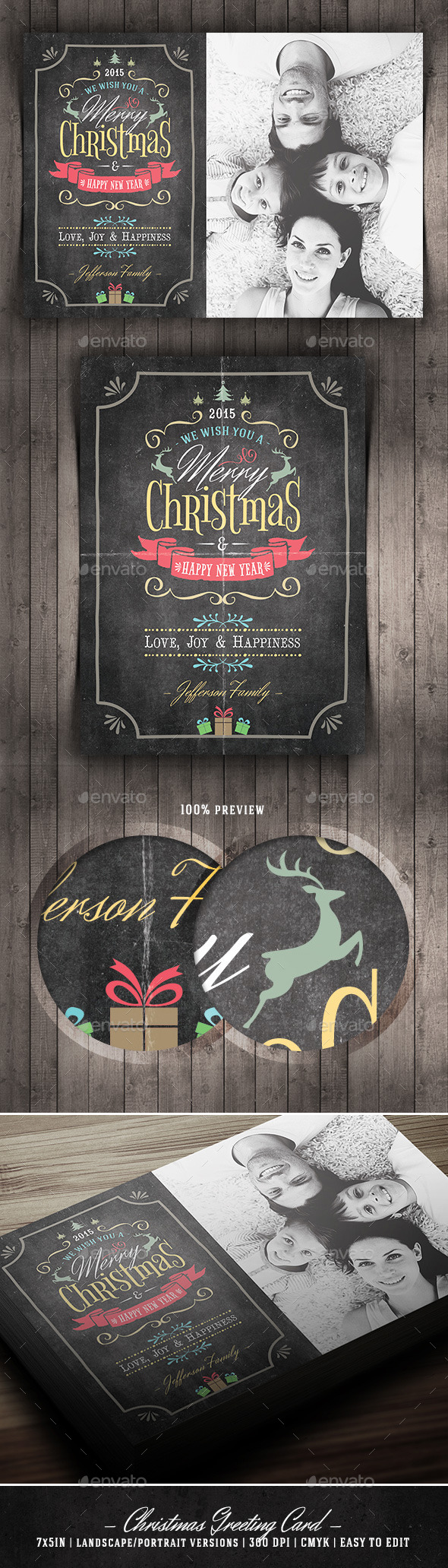 GraphicRiver Christmas Greeting Card 9679770