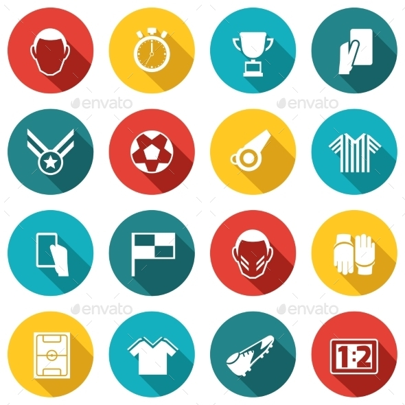 GraphicRiver Soccer Icons 9680343