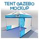 Tent Gazebo Mockup - GraphicRiver Item for Sale