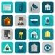 Home Security Icons Flat - GraphicRiver Item for Sale