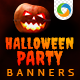 Halloween Party Banners - GraphicRiver Item for Sale