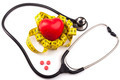 Stethoscope and Red Pills - PhotoDune Item for Sale
