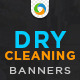 Laundry & Dry Cleaning Banners - GraphicRiver Item for Sale