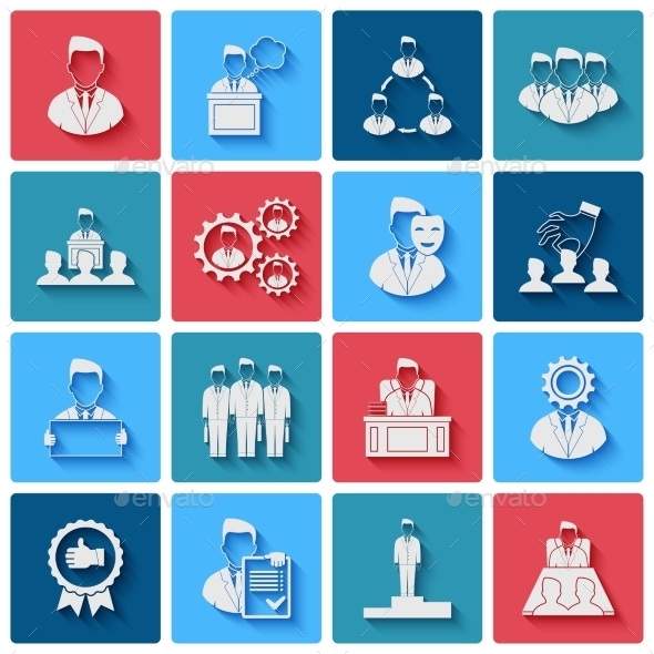 GraphicRiver Executive Icons 9680739
