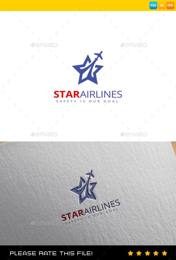 GraphicRiver Plane Logo 9680772