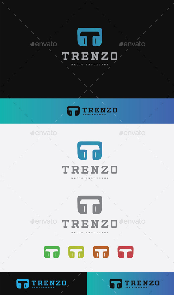 GraphicRiver Trenzo Radio Logo 9680812