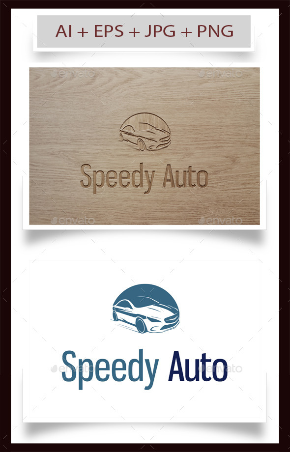 GraphicRiver Speedy Auto Logo 9680876