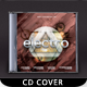 Futuristic Music CD Cover - GraphicRiver Item for Sale