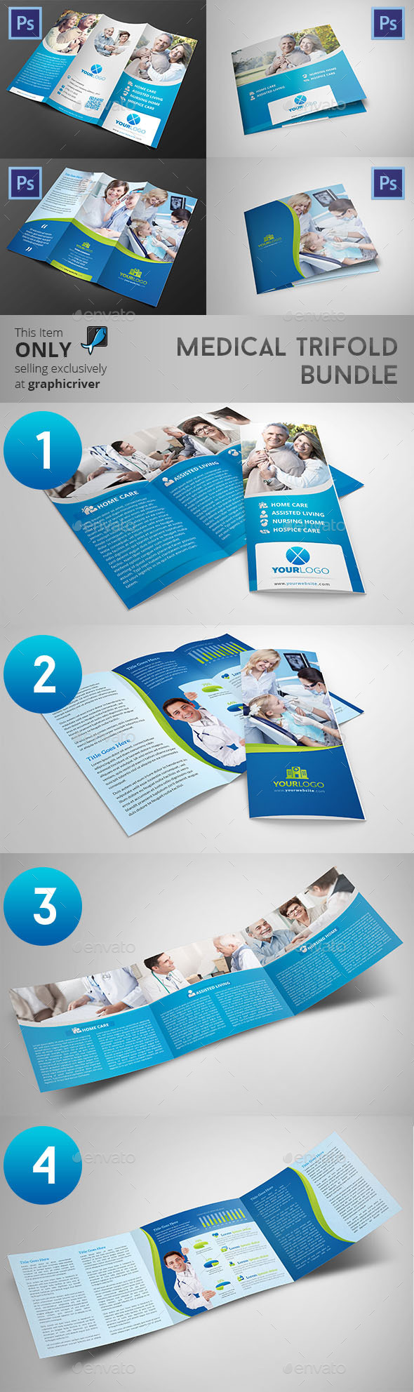 Medical Trifold Bundle