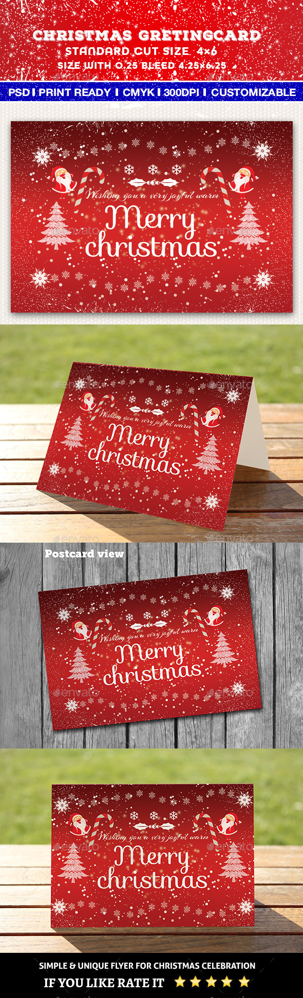 GraphicRiver Christmas Greeting Card 9681449