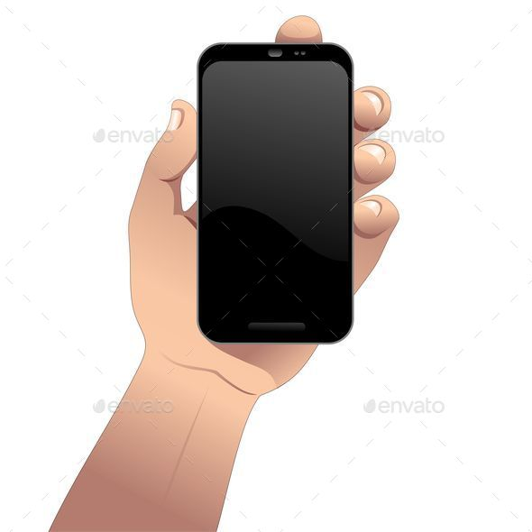 GraphicRiver Hand with Smartphone 9681717