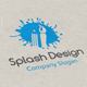 Splash Design Logo - GraphicRiver Item for Sale