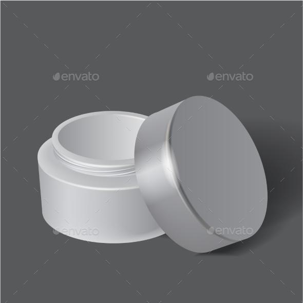 GraphicRiver White Box for Cosmetics 9682220