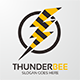 Thunder Bee Logo - GraphicRiver Item for Sale