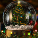 Looped Snow Globe Decoration - VideoHive Item for Sale