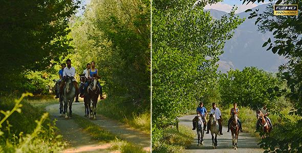 VideoHive Horseback Riding 3 9682650