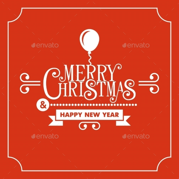 GraphicRiver Red Christmas Greeting Card Background 9682788