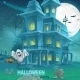 Illustration of a Haunted House - GraphicRiver Item for Sale