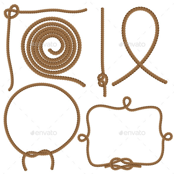 GraphicRiver Ropes and Knots 9682921