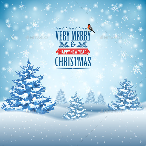 GraphicRiver Christmas Background 9682994