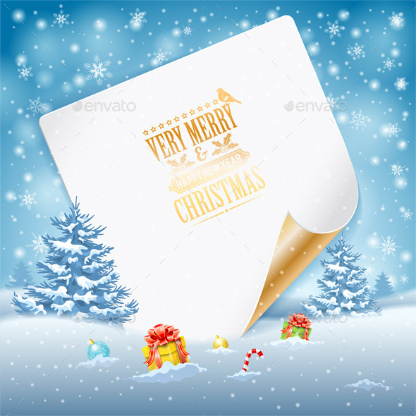 GraphicRiver Christmas Greeting Card 9683052
