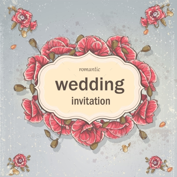 GraphicRiver Wedding Card 9683055