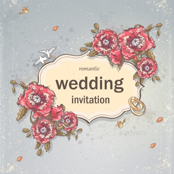 GraphicRiver Wedding Card 9683060