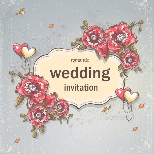 GraphicRiver Wedding Card 9683067